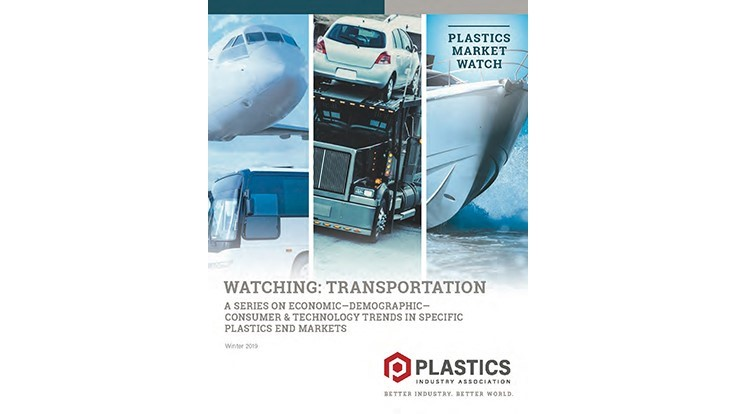 Plastics report: Increased demand for plastics in automotive, transportation sector