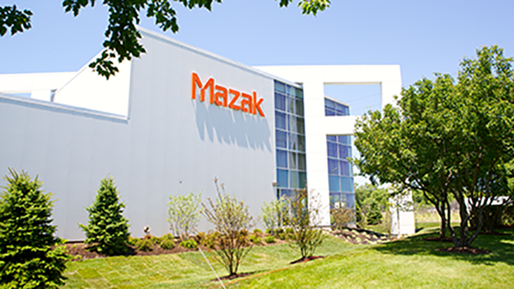 Mazak's Midwest event, student machining competition