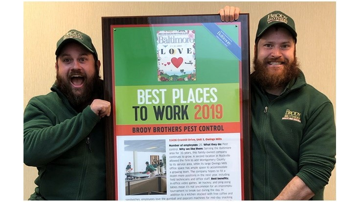 Brody Brothers Earns a Local 2019 'Best Places to Work' Award
