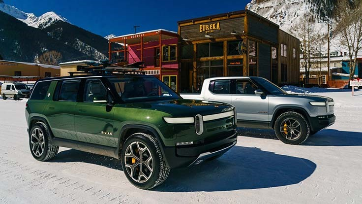 Amazon leads $700 million in funding for electric truck, SUV maker Rivian