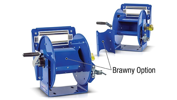 New Brawny Option for Coxreels' 100 Series Reels