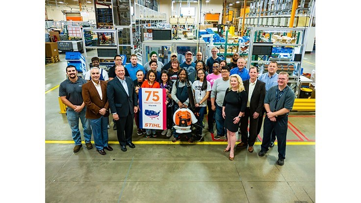 STIHL produces 75 millionth unit in America