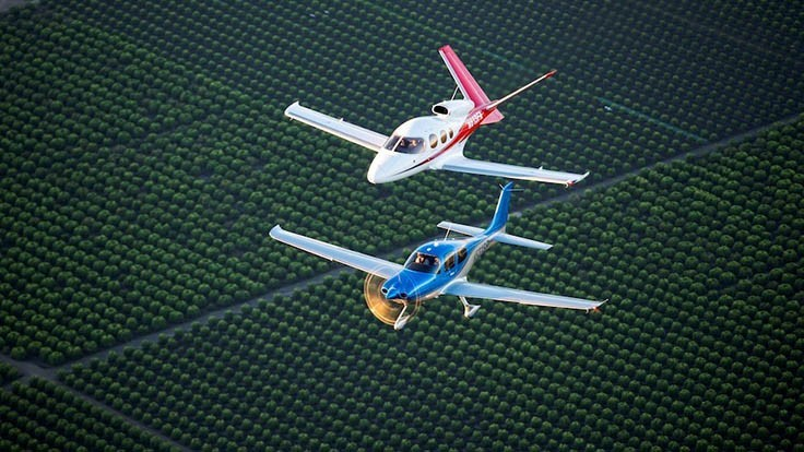 Cirrus Aircraft reports strongest deliveries in a decade