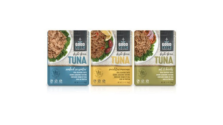 Plant-based tuna sells at retail