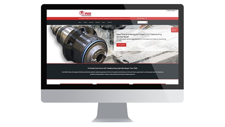Precision Drive Systems' spindle repair services