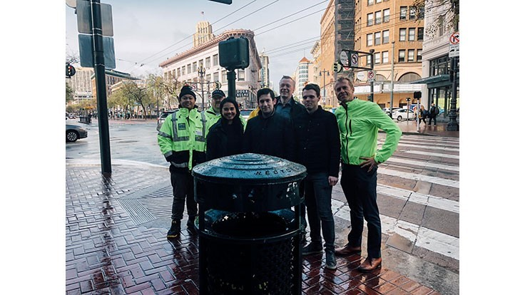 San Francisco partners with Nordsense to monitor bins