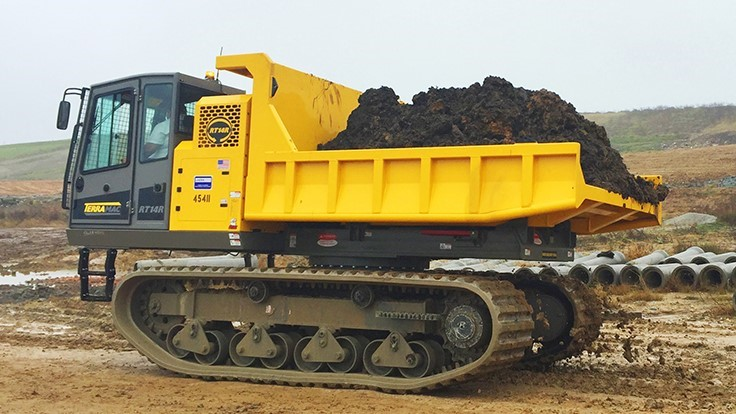 Terramac introduces new rubber track crawler carrier