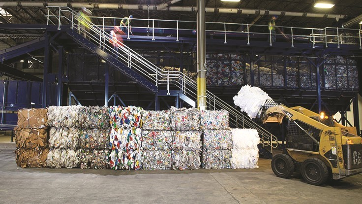 Lower recyclables prices offset Casella's revenue growth for Q4 2018