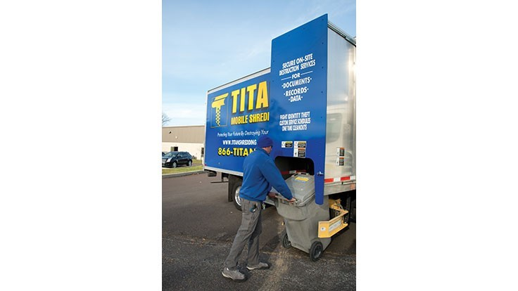 Titan Mobile Shredding renews NAID certification