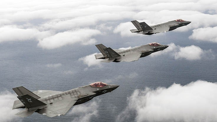 US Navy F-35C achieves initial operational capability