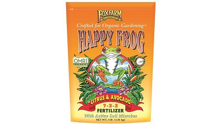 Happy Frog Citrus & Avocado Fertilizer 7-3-3
