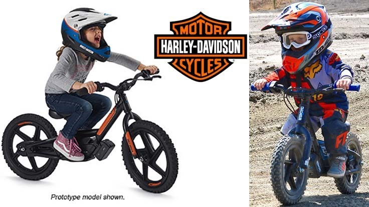 Harley-Davidson buys electric bike company for children