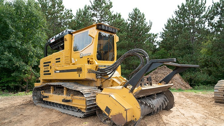 Morbark introduces new Rayco T415 Forestry Machine