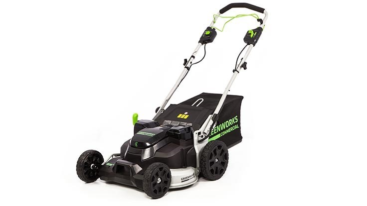 Greenworks launches commercial brushless self-propelled mower