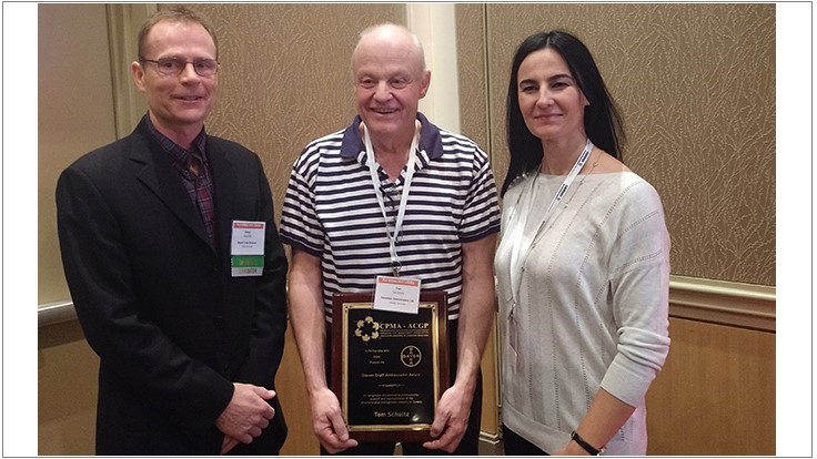 Tom Schultz Recognized with Steven Graff CPMA Ambassador Award