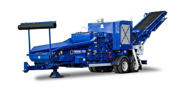 Peterson Pacific introduces new 1700D horizontal grinder