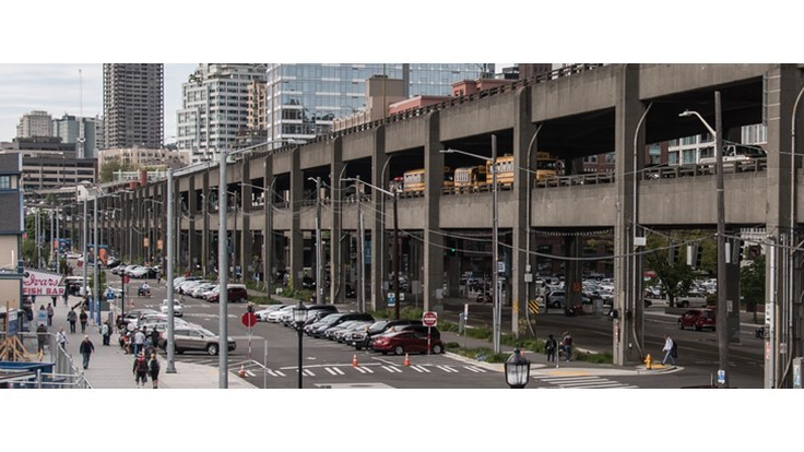 Video: Alaskan Way Viaduct demolition underway