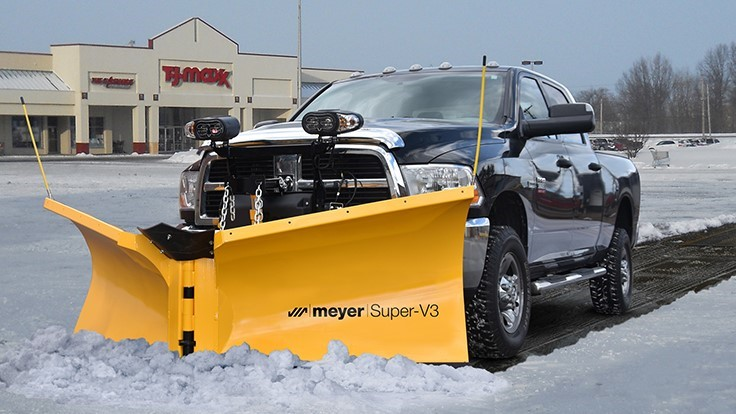 Meyer Introduces Super-V3 Plow