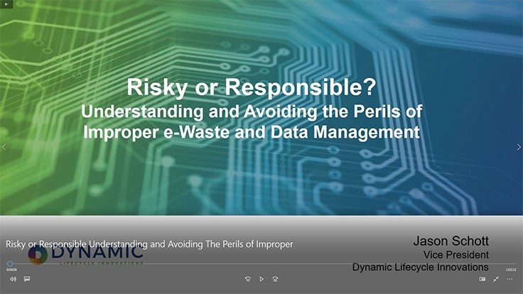 Risky or Responsible? Understanding and Avoiding the Perils of Improper e-Waste and Data Management