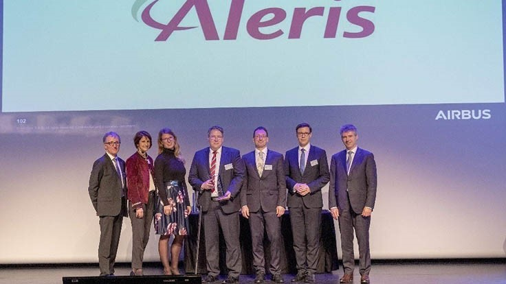 Aleris recognized with Airbus supplier award for second consecutive year