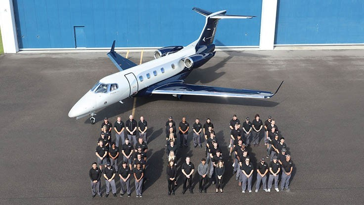 Embraer delivers 500th Phenom 300 business jet