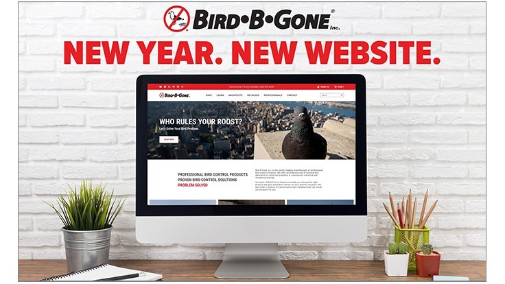 Bird•B•Gone Redesigns Website, Releases Catalog
