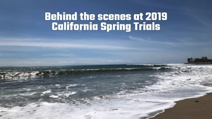 Behind the scenes at 2019 California Spring Trials