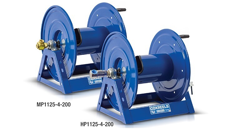 Coxreels Offers Upgraded Swivel Options for 1125 Series