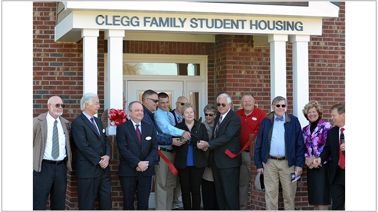 Clegg Family Student Housing Opens at Durham Rescue Mission