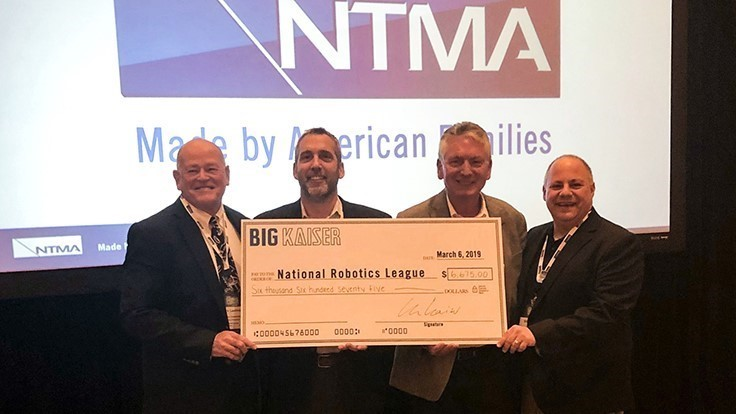Big Kaiser supports National Robotics League, makes third annual donation