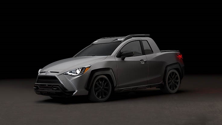 Toyota subcompact pickup, throwback Honda SUV highlight April Fools