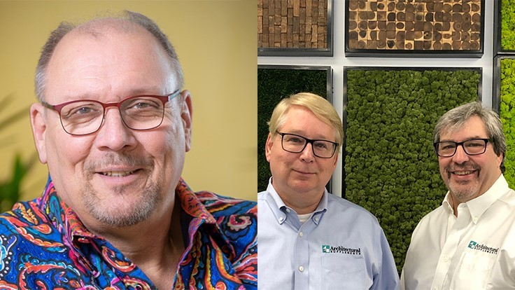 AmericanHort inducts three new members into the Interior Plantscape Hall of Fame