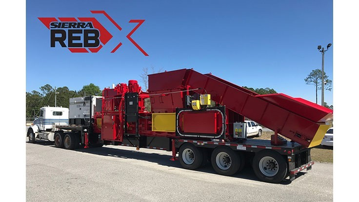 Sierra International Machinery introduces the REB-X Press two-ram baler