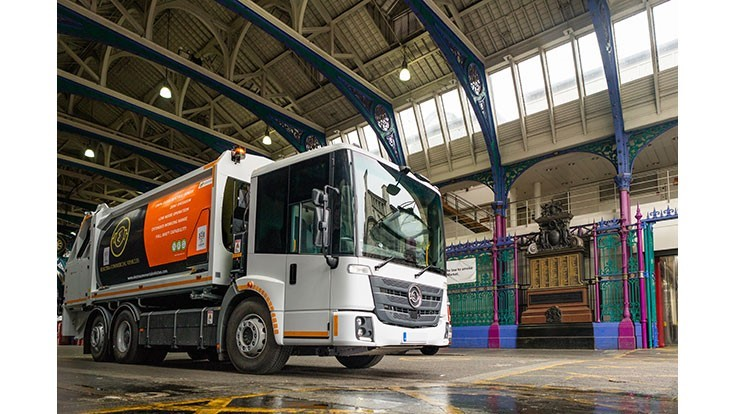 Veolia to implement U.K.'s first electric refuse fleet