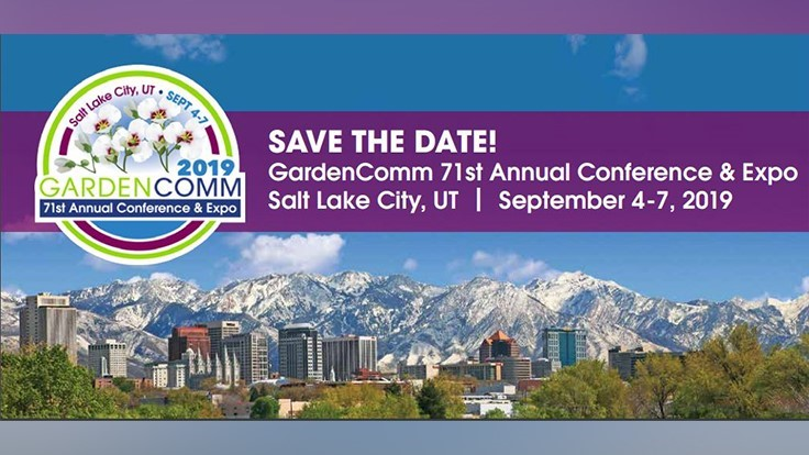 GardenComm Annual Conference & Expo set for Salt Lake City
