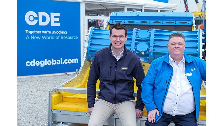 CDE debuts 'next generation' technology, wet processing system at Bauma