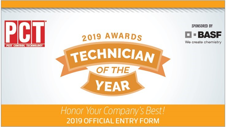 PCT/BASF Technician of the Year Entry Deadline is July 18