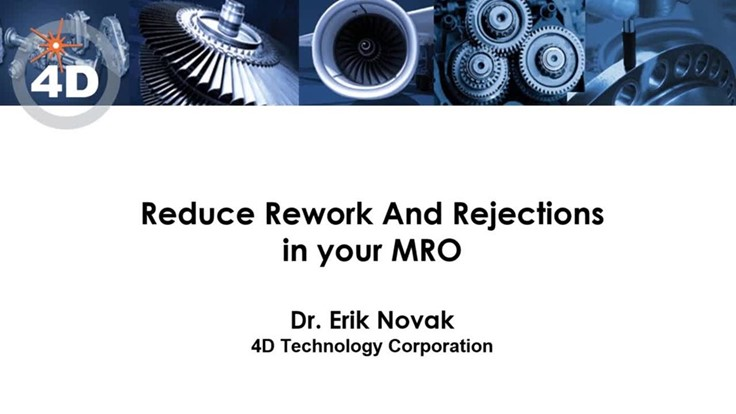 Reduce rework and rejections webinar-Aerospace Manufacturing