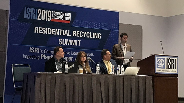 ISRI2019: Packaging innovations that support recycling
