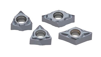 PVD-coated grade for ISO S materials