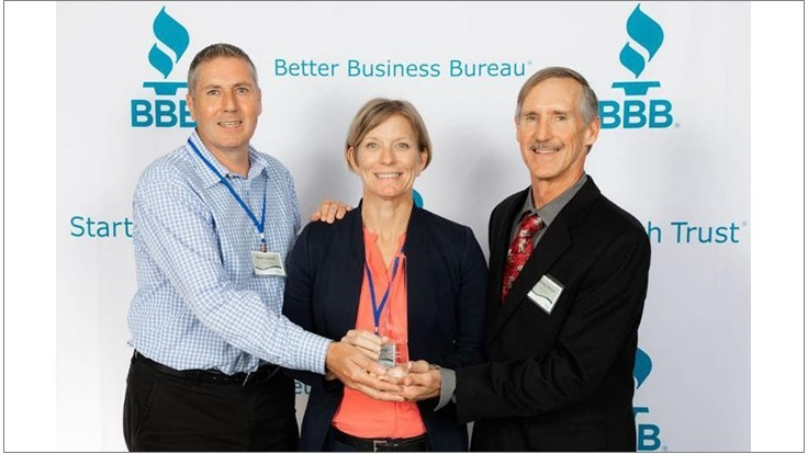 Nozzle Nolen Earns BBB 2019 Torch Award for Ethics