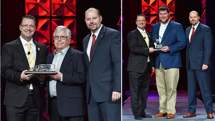 Sadoff employees receive ISRI's Safe Driver of the Year and Golden Wrench awards
