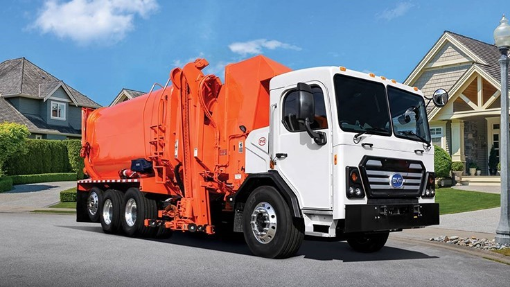 BYD delivers electric refuse truck to Waste Resources