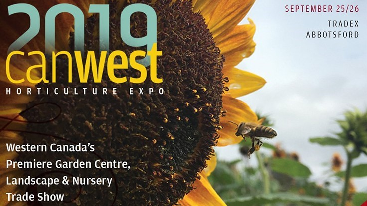 38th annual CanWest Horticulture Expo coming to Abbotsford, British Columbia