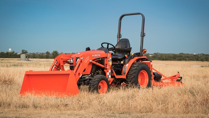 Kubota launches new tractor line