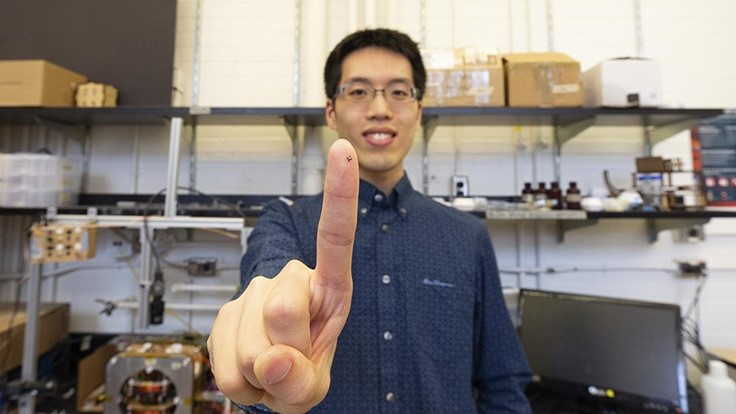 U of T engineering researchers automate microrobotic designs