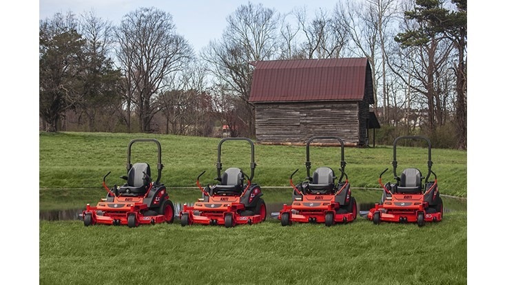 KIOTI Tractor launches new line of zero-turn mowers
