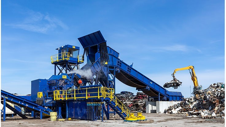 Wendt Corp. supplies shredder, nonferrous separation system to Newco