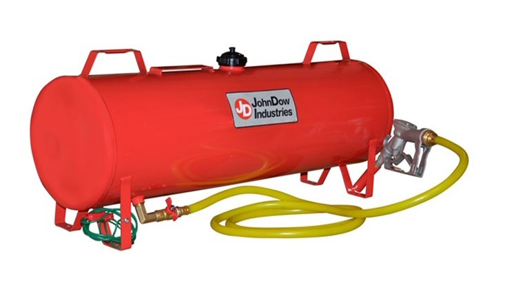 John Dow introduces 15 Gallon Portable Fuel Station