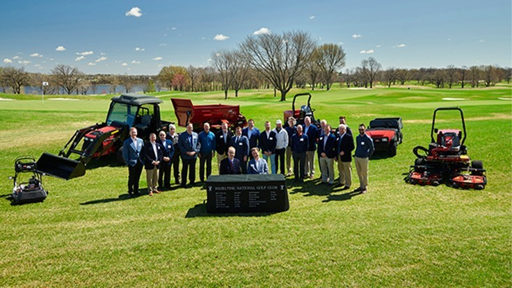 Hazeltine National enters long-term agreement with Toro